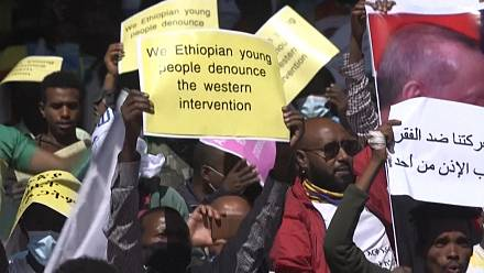 Ethiopia rallies against US over Tigray restrictions
