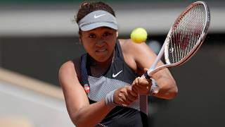 Japan's Naomi Osaka was fined by the French Open