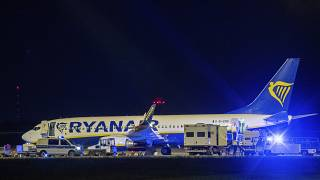 Экстренная посадка самолёта Ryanair в берлинском аэропорту