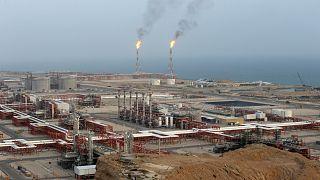 منشأة لإنتاج النفط الإيراني