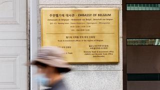 The embassy didn't provide a specific date on when Lescouhier's term will end