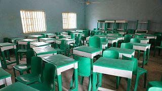 یکی از کلاسهای درس مدارس در نیجریه