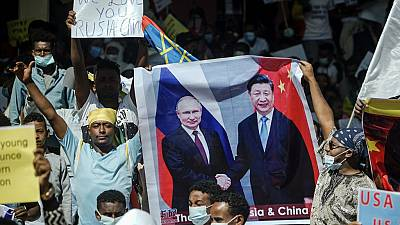 Why are protestors in Ethiopia and Mali waving Russian flags?