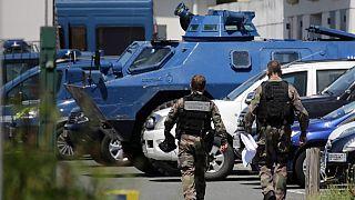 Tagelange Operation der Sicherheitskräfte in der Dordogne in Frankreich