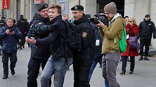 Protasévich ya fue detenido por las fuerzas de seguridad bielorrusas en marzo de 2017