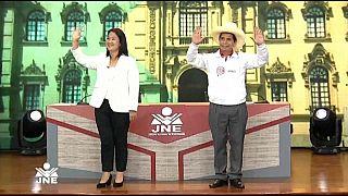 Zwei extreme Kandidaten: Rechtspopulistin Keiko Fujimori und Pedro Castillo von der marxistisch-leninistischen Partei