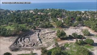 اسرائيل تكشف النقاب عن موقع أثري عمره ألفي عام في عسقلان