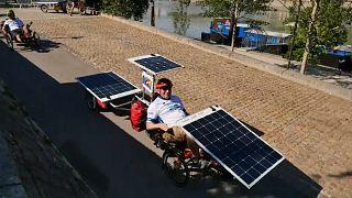 Vuelta a Europa en bici solar