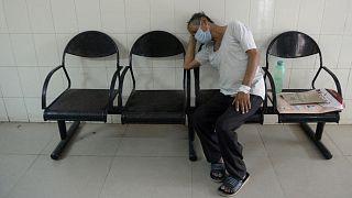 مصاب بمرض الفطر الأسود في الهند