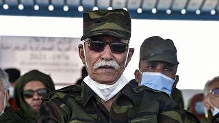 زعيم جبهة البوليساريو إبراهيم