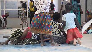 Mozambique's dsplaced children live in despair as world marks children's day