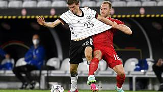 Test-Match Deutschland - Dänemark in Salzburg