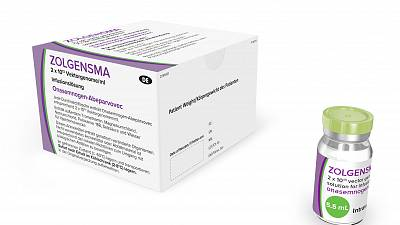 One of the most costly drugs in the world, Zolgensma