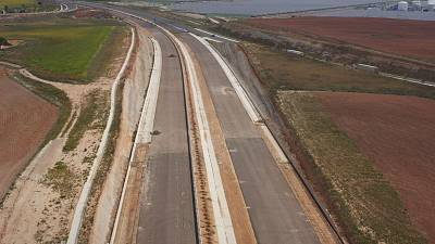 The road to sustainability: the superhighway built from paper waste instead of cement