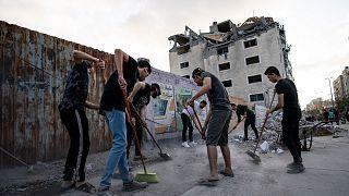 غزة - تنظيف
