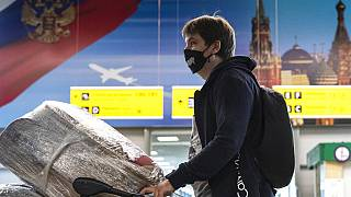 Aeroporto de Sheremetyevo, nos arredores de Moscovo