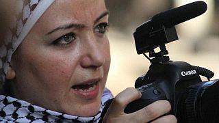 Suriyeli kaıdn gazeteci Zeyna Erhaim