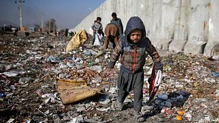 کودکی آواره در کابل، پایتخت افغانستان