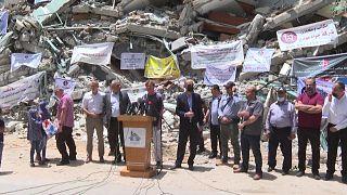 """مبعوث الاتحاد الأوروبي يقول إن الحصار """"يجب أن ينتهي"""" لإعادة إعمار غزة"""