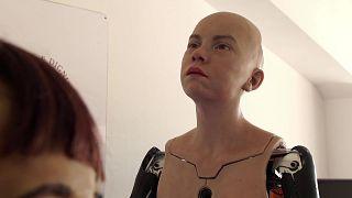 İnsansı robot Abel, duyguları algılayıp tepki verebiliyor