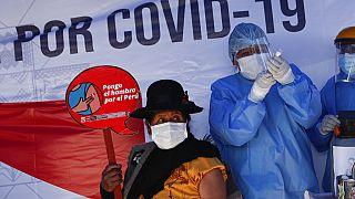 Impfung gegen Covid-19 in Peru