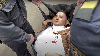 Степан Латыпов пытался перерезать себе горло в зале суда в знак протеста