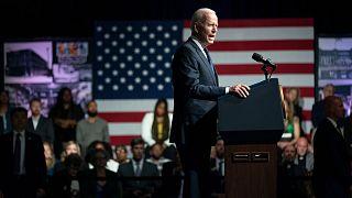 جو بایدن در مراسم بزرگداشت جانباختگان قتلعام تولسا