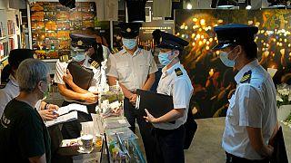 Agentes do Departamento de Alimentaçao e Higiene Ambiental fiscalizam Museu 4 de Junho