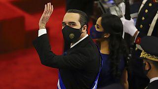 Bukele en el Congreso salvadoreño