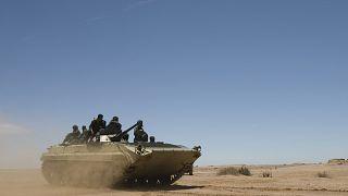 قوات تابعة لجبهة البوليساريو (أرشيف)