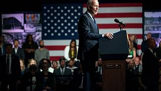 President Joe Biden speaks as he commemorates the 100th anniversary of the Tulsa race massacre, at the Greenwood Cultural Center, Tuesday, June 1, 2021, in Tulsa, Oklahoma.