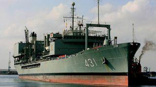 Das gesunkene Schiff auf einer Aufnahme aus dem Jahr 2012