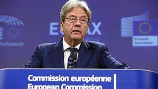 European Commissioner for Economy Paolo Gentiloni