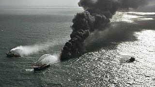 Le cargo en perdition au large du Sri Lanka est en train de couler