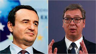 Kosovo's new prime minister, Albin Kurti, and Serbian President Aleksander Vucic