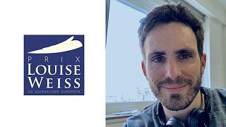 """Le journaliste Bryan Carter, Lauréat du Prix Louise Weiss, catégorie """"reportage"""""""