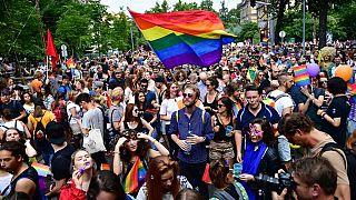 LGBT onur yürüyüşünden