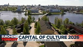 Oulu in Finland becomes European Capital of Culture 2026