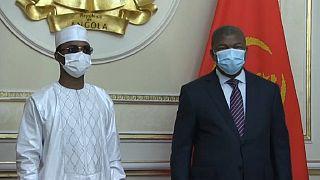 Mahamat Idriss Déby est en visite en Angola