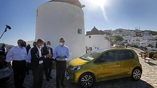 Volkswagen озеленит греческий остров