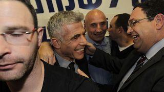 Яир Лапид с соратниками по партии, 2013 год