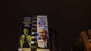 یک تصویر در جریان مبارزات انتخاباتی اسرائیل