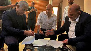 Israelitas divididos quanto a governo de coligação
