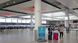 El aeropuerto de Gatwick, al sur de Londres, en una foto de archivo del pasado verano.