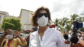 La opositora nicaragüense Cristiana Chamorro