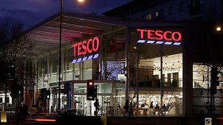 Tesco store in west London