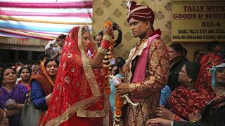 مراسم زواج في مدينة نيودلهي في الهند. 2019/03/08