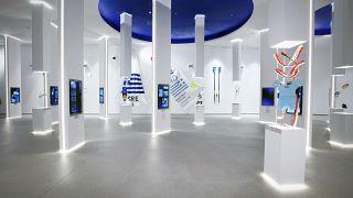 Ολυμπιακό Μουσείο Αθήνας_ Η αίθουσα που είναι αφιερωμένη στους Αθλητές και τα Ολυμπιακά Αθλήματα
