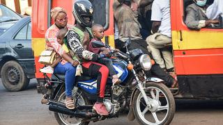 Guinea's two-wheel taxi drivers struggle under police crackdown