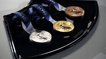 Tokyo unveils Olympic podium, medal tray and music with 50 days to go